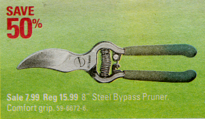 yardworks pruners